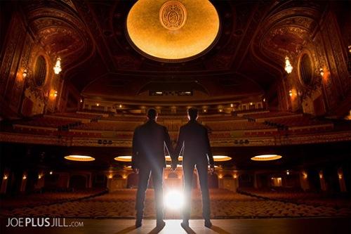 Brian and Daniel at the Paramount!